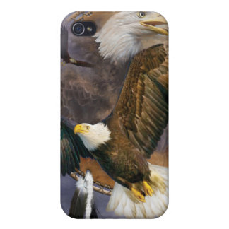Spirit Eagles Art Case for the iPhone 4 iPhone 4 Covers