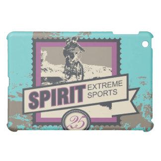 Spirit Extreme Sports Biking Teal  iPad Mini Covers