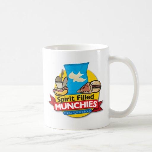 Spirit Filled Munchies Classic White Coffee Mug