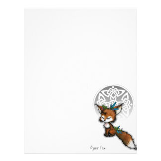 Spirit Fox Letterhead