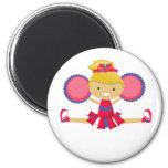 Spirit Girl Cheerleader Magnets