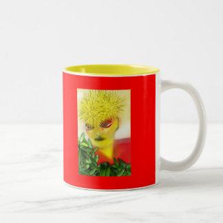 Spirit Girl Two-Tone Coffee Mug