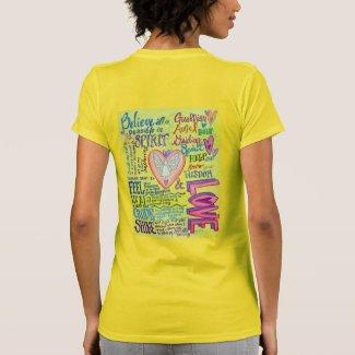 Spirit Guidance Prayer Inspirational Angel Shirt