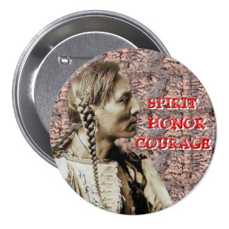SPIRIT HONOR COURAGE PINBACK BUTTONS