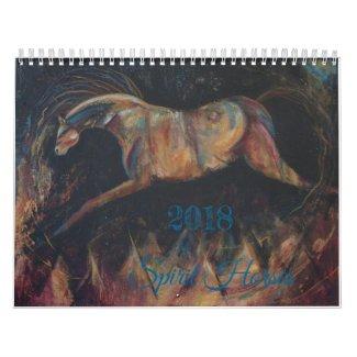 Spirit Horse Calendar 2018