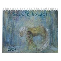 Spirit Horse Calendar 2020