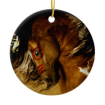 Spirit Horse Ceramic Ornament