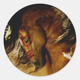Spirit Horse Classic Round Sticker