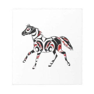 SPIRIT HORSE NOTEPAD