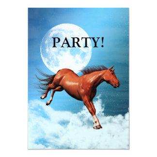 Spirit horse party invitation