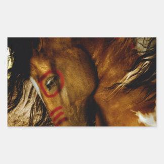Spirit Horse Rectangular Sticker