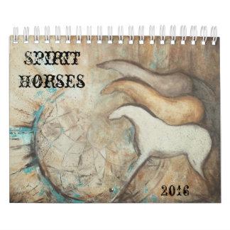 Spirit Horses 2016 Calendar