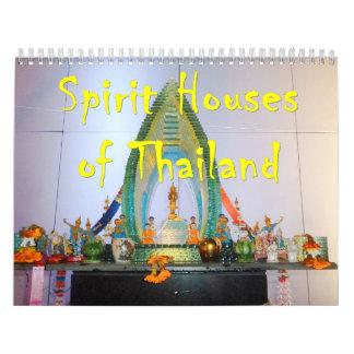Spirit Houses of Thailand Calendar