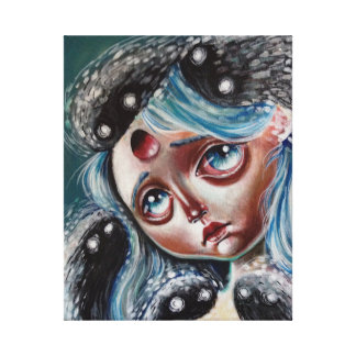 Spirit Keeper Pop Surrealism Canvas Print