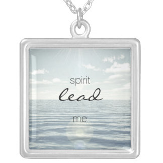 Spirit Lead Me Personalized Necklace
