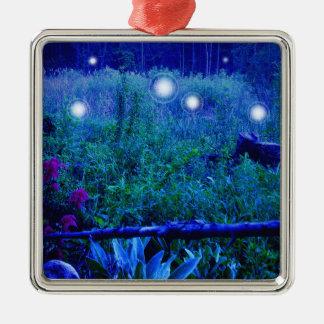 Spirit Lights Blue Night Marshy Meadow Ornament