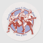Spirit of 1976 classic round sticker