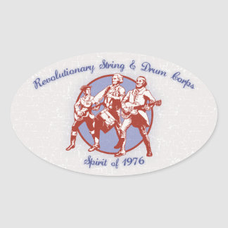 Spirit of 1976 oval sticker