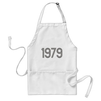 Spirit of 1979 Retro Products & Designs! Adult Apron