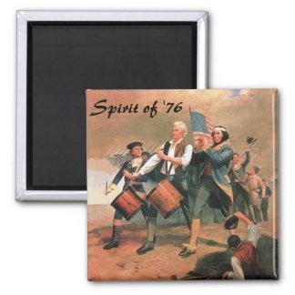 Spirit of '76 2 inch square magnet