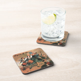 Spirit of '76 drink coaster