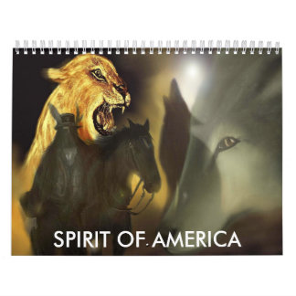 SPIRIT OF AMERICA CALENDAR