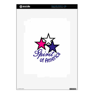 Spirit Of America Decal For The iPad 2