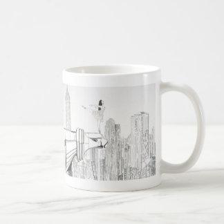 Spirit of America Classic White Coffee Mug