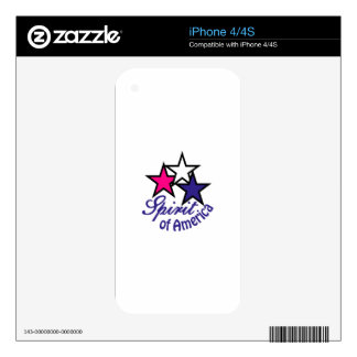Spirit Of America Skin For The iPhone 4S