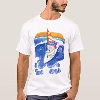 Spirit of Australia Kids Koala Bear Surfing Shirt