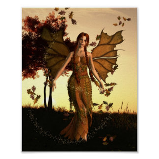 Spirit of Autumn Poster