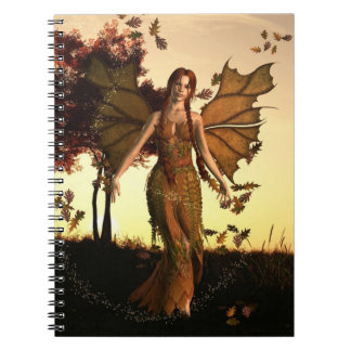 Spirit of Autumn Spiral Notebook