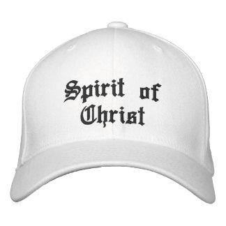 Spirit of Christ Embroidered Baseball Hat