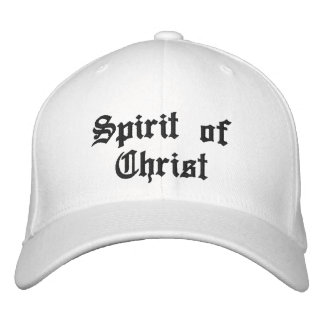 Spirit of Christ Embroidered Hat