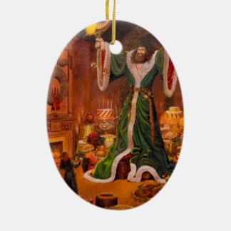 Spirit of Christmas Present Ceramic Ornament