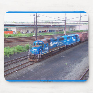Spirit of Conrail - GP38 - PRR #2943 in Blue Paint Mouse Pad