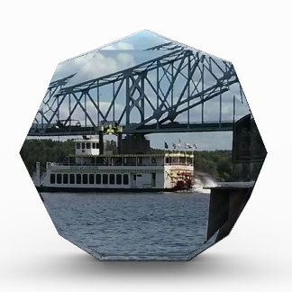 Spirit of Dubuque on Mississippi River Acrylic Award
