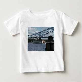 Spirit of Dubuque on Mississippi River Baby T-Shirt