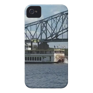 Spirit of Dubuque on Mississippi River iPhone 4 Cover