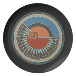 Spirit Of Eagle Melamine Plate