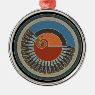 Spirit Of Eagle Metal Ornament