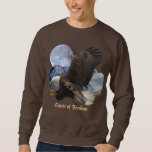 SPIRIT of FREEDOM Bald Eagle Wildlife Apparel Sweatshirt