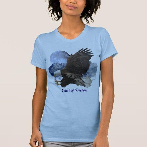 SPIRIT of FREEDOM Bald Eagle Wildlife Apparel Shirts