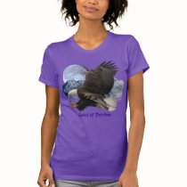 SPIRIT of FREEDOM Bald Eagle Wildlife T-Shirt