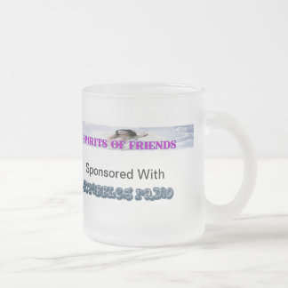 Spirit Of Friends League Frosted Glass Coffee Mug