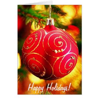 Spirit of Holidays Greeting Cards