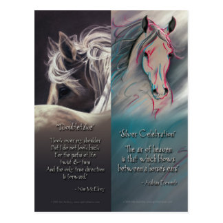 Spirit of Horse Bookmarks Post Cards