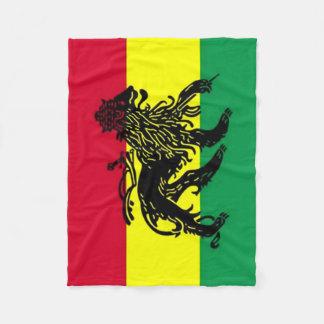 Spirit of Jamaica Flag Fleece Blanket