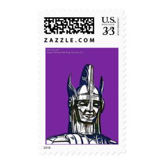 Spirit of Light, Niagara Mohawk Building, Syracuse Stamp