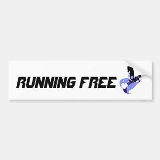 Spirit of Motion - Running Free - Horse Bumper Sticker